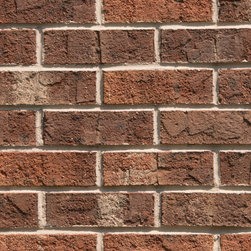 Triangle Brick's Georgian - Both your brickwork and the intricate architectural accents of your building will be showcased by the luxurious variety of tones in the Georgian brick. Swatches of color ranging from dark brown to cream add variety and dimension to this copper-colored, sand-faced brick in Triangle Brick Company's Standard product tier. The Georgian Brick is sure to give your building an ornate look that's ready to be embellished with extravagant features.