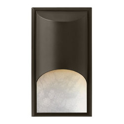 Hinkley Lighting - Hinkley Lighting 1832BZ-GU24 Cascade 1 Light Outdoor Wall Lights in Bronze - The clean, modern lines of Cascade complement the rich alabaster glass, while creating a glowing, indirect lighting effect. The sleek aluminum construction adds to the design's versatility, making this contemporary style perfect for either interior or exterior use. Cascade is standard Dark Sky and ADA compliant.