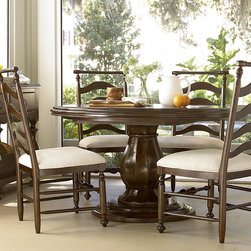 Kitchen Breakfast Round Table - Paula Deen Home- River House Round Table by Universal Furniture