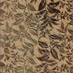 Shaw Industries, Inc - Flourish Rug in Gold -