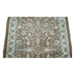 """Dynamic - Imperial 31"""" Runner Traditional Stair Runner - Stair & Hallway Runners Are Sold By The Linear Foot!  Quantity 1 = 1 Linear Ft  All Sides Are Finished   Imperial 2.7 x 1 619-990 Brown By Dynamic Rugs"""