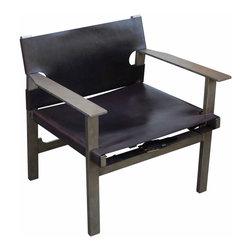 Mortise & Tenon - Brenton Chair - Metal frame