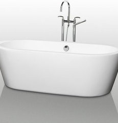 Wyndham Collection Mermaid 71-in. Freestanding Tub