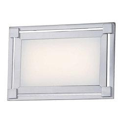 "Kovacs - Kovacs P1161-077-L 1 Light 9.25"" Width ADA Compliant LED Bathroom Bath Bar - Single Light 9.25"" Width ADA Compliant LED Bathroom Bath Bar from the Framed CollectionFeatures:"
