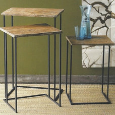 Eclectic Side Tables And Accent Tables by Heaven's Gate Home and Garden, LLC