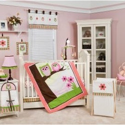 Sweet Dreams Owl 10 Piece Crib Bedding Set About Pam
