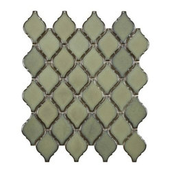 Arabesque Porcelain Tile Mosaic - Thalia -