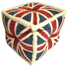 Floor Pillows And Poufs by Natural Fibres Export