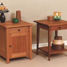 Traditional Nightstands And Bedside Tables by McKinnon Furniture