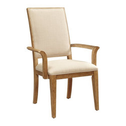 A.R.T. Furniture - A.R.T. Furniture Ventura Arm Chair - Weathered Chestnut - Set of 2 Multicolor - - Shop for Dining Chairs from Hayneedle.com! The A.R.T. Furniture Ventura Arm Chair Weathered Chestnut Set of 2 features a high-back design with tailored upholstery on the front and a signature square veneer pattern with cutouts on the back. The frames of hardwood solids and white oak veneers are hand-weathered with wire brushing and other accents to create a casual rustic style with West coast flair.About A.R.T. FurnitureFounded in 2003 A.R.T. Furniture creates beautiful high-quality furniture inspired by architecture and design. Their sophisticated aesthetic draws upon the best of traditional European furniture designs as well as rustic coastal and transitional styles. A.R.T. Furniture is known for its themed collections that reinvent classic forms for the needs of contemporary home decorators. Their dining room bedroom entertainment and living room furnishings are constructed from sustainably forested hardwoods and veneers. A.R.T. Furniture is distinguished by its superior craftsmanship and attention to detail taking the extra step in the manufacturing process to ensure quality beauty and durability for its customers.