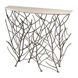 Cyan Design - Cyan Design 06241 Woodland Contemporary Console Table - Cyan Design 06241 Woodland Contemporary Console Table