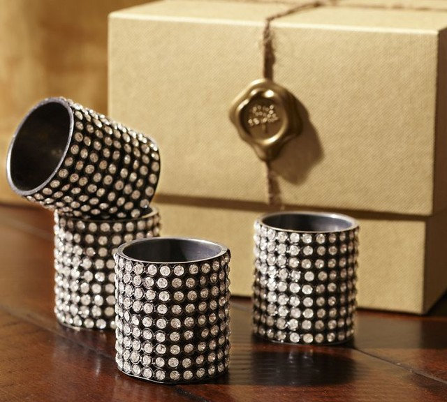 Traditional Napkin Rings by Pottery Barn
