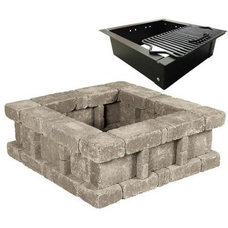 Contemporary Fire Pits by Home Depot