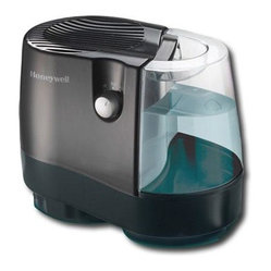 Kaz Inc - HW Cool Moisture Humidifier - Honeywell Cool Moisture Humidifier.  Quietly runs overnight on one filling; small-med size room - ideal for bedrooms.  2 gallon output per day; automatic moisture balance system; high/low moisture output settings; easy to clean  carry  and fill with x-lar