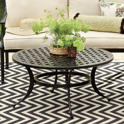 Transitional Outdoor Tables by Ballard Designs