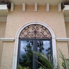 Mediterranean Architectural Details by Art Iron Works Inc.