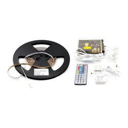12 Meter (39 feet) Multicolored LED Flexible Lighting Kit - Kit Includes: