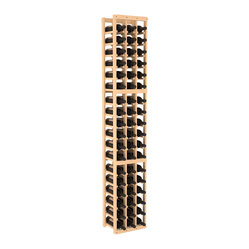 Three-Column Standard Wine Cellar Kit in Pine