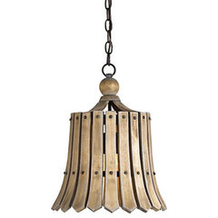 eclectic pendant lighting by Terrain