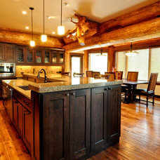 Rustic Kitchen by Sun Mountain, Inc.