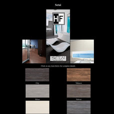 Contemporary Floor Tiles by ARCHARIUM Tile and Stone