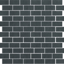 The Standard Collection Dark Gray 1x2 Mosaic -