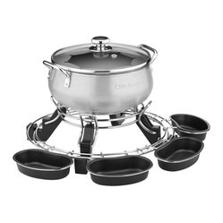 Cuisinart 3-Quart Lazy Susan Electric Fondue Pot