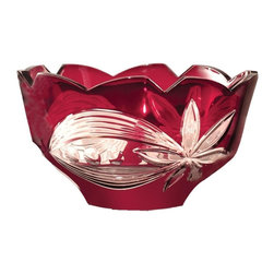 Dale Tiffany - New Dale Tiffany Bowl Red DY-544 - Product Details
