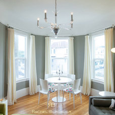 Eclectic Dining Room by Rachel Blindauer Interior Design