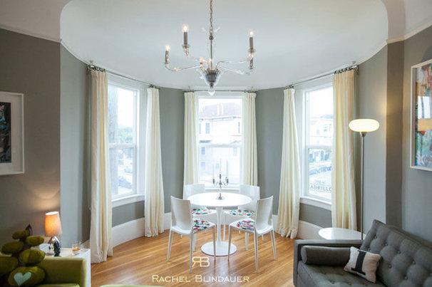 Eclectic Dining Room by Rachel Blindauer Interior Design