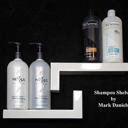 Modern Bathroom Shower Shelf Ideas - Mark Daniels
