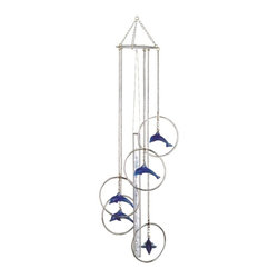 GSC - Wind Chime 5-Ring Charm Dolphin Musical Hanging Garden Hang Decoration - This gorgeous Wind Chime 5-Ring Charm Dolphin Musical Hanging Garden Hang Decoration has the finest details and highest quality you will find anywhere! Wind Chime 5-Ring Charm Dolphin Musical Hanging Garden Hang Decoration is truly remarkable.