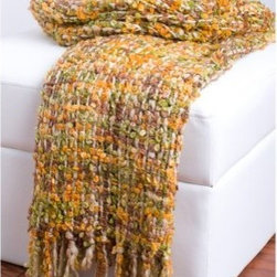 Rizzy Home Thick Thread Extra Soft Luxury Throw Blanket - Add a striking pop of color to your home with the fun, friendly look of the Rizzy Home Thick Thread Extra Soft Luxury Throw Blanket. Hues of green and orange in a classic plaid pattern create a rich look to your bedroom or living room. The ultra-soft acrylic yarn makes it not only easy to care for, but the perfect accessory to curl up with.About Rizzy RugsSince 1971, Rizzy Rugs has been producing the world's finest rugs using a variety of techniques, including hand-knotting, hand-tufting, hand-looming, and much more. Rizzy Rugs originally sold its rugs on a direct import basis; in 2007, it opened a new corporate headquarters in Calhoun, Ga. Nowadays, Rizzy Rugs services its customers via a state-of-the-art distribution center that allows it to provide exemplary customer service all over the United States. Rizzy is known for its wide variety of designs and weaving techniques as well as its sensible prices. At Rizzy Rugs, you get quality materials, old-fashioned techniques, durable and dependable products, and fashionable designs, all at a price you can afford.