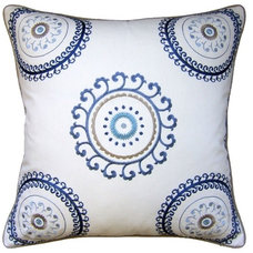 Mediterranean Pillows by Belle and June