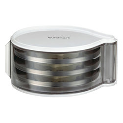 Cuisinart - Cuisinart 3-Disc Holder - Unit holds up to 3 discs and additional units are stackable