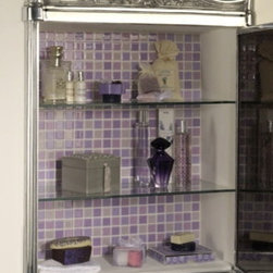 Mirrors and Cabinets - Blenheim Cabinet with Mirror. Luxury Bathrooms at www.chadderusa.com