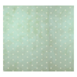 Removable Wallpaper-Vintage Dots-Peel & Stick Self Adhesive, 24x96 - Couture WallSkins.  Your wall will love you for this.