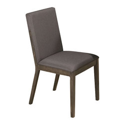 Jofran - Jofran 728-435KD Antique Gray Ash Upholstered Linen Side Chair [Set of 2] - Combining traditional details with modern designs, Jofran has a collection to compliment any home decor. This chair with upholstered back and seat in linen belongs to 728 series - antique gray ash by Jofran inc. The classic formulas of color combinations are not valid in Jofran furniture territory: here is ruled by laws solely of your own preferences and fantasies. Huge selection of colors in combination with a wide choice of shapes and sizes allow you to find among this variety precisely the furniture you've always wanted to see in your home. Jofran furniture offers high quality, casual furniture pieces that are constructed from premium Asian hardwoods, and finished with beautiful veneers. Durable materials and quality assembly will help your furniture to serve for many years and will not let you be disappointed in your choice.
