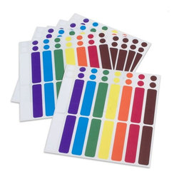 Color-Coded Cord Labels - Keep all of those pesky cords straight with these cord labels. No longer will you be wondering which USB plug goes with the scanner and which one goes with the printer.