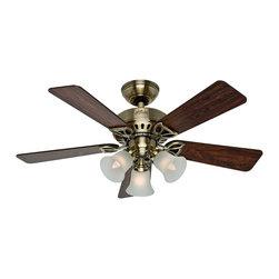 Hunter - Hunter Small Room or Office Ceiling Fan with light X-87035 - Hunter Small Room or Office Ceiling Fan with light X-87035