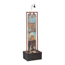 Kenroy - Kenroy 50151COP Montpelier Floor Fountain - Kenroy 50151COP Montpelier Floor Fountain
