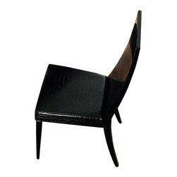 Rossetto - Nightfly Chair in Black - Features:
