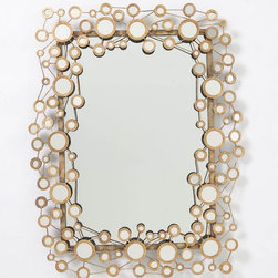 Circle Jig Mirror - I love the detail and flow of this beautiful mirror.