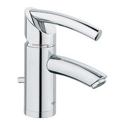 Grohe - Grohe 32924000 Starlight Chrome Tenso Tenso Single Hole Bathroom - Product Features:  Faucet body constructed of solid brass Covered under Grohe s limited lifetime warranty Grohe faucets are exclusively engineered in Germany Finishes will resist corrosion and tarnishing through everyday use - finish covered under lifetime warranty Single handle operation ADA compliant - complies with the standards set froth by the Americans with Disabilities Act for bathroom faucets Low lead compliant - meeting federal and stat regulations for lead content WaterSense Certified product - using at least 30% less water than standard 2.2 GPM faucets, while still meeting strict performance guidelines Designed for use with standard U.S. plumbing connections  Product Technologies / Benefits:  Starlight Finish: Continuously improving over the last 70 years Grohe's unique plating process has been refined to produce and immaculate shiny surface that is recognized as one of the best surface finishes the world over. Grohe plates sub layers of copper and/or nickel to ensure that a completely non-porous, immaculate surface awaits the chrome layer. This deep, even layered chrome surface creates a luminous and mirror like sheen. SilkMove Cartridge: The rich and smooth handling of our single lever faucets conveys pure quality. As you change the temperature from hot to cold, one ceramic disc glides effortlessly across the other with absolute precision. These cartridges are manufactured in a high-tech process and feature discs made from a space-proven ceramic alloy. The SilkMove cartridge is yet another example of design and technology fusing to bring you an enhanced water experience. Grohe WaterCare: With the constant challenge of providing faucets that perform to the highest standards while leaving the smallest environmental foot-pr