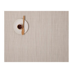 Chilewich - Chilewich | Bamboo Placemat S/4, Chino, Rectangle - Chilewich | Bamboo Place mat S/4