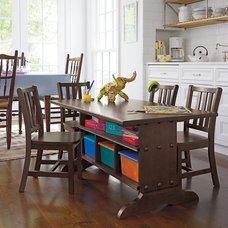 Traditional Kids Tables And Chairs by The Land of Nod