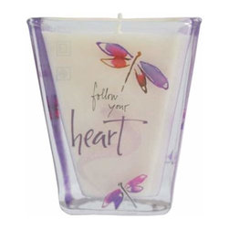 """WL - 3.25 Inch """"Follow Your Heart"""" Votive Candle Holder Collectible Decor - This gorgeous 3.25 Inch """"Follow Your Heart"""" Votive Candle Holder Collectible Decor has the finest details and highest quality you will find anywhere! 3.25 Inch """"Follow Your Heart"""" Votive Candle Holder Collectible Decor is truly remarkable."""