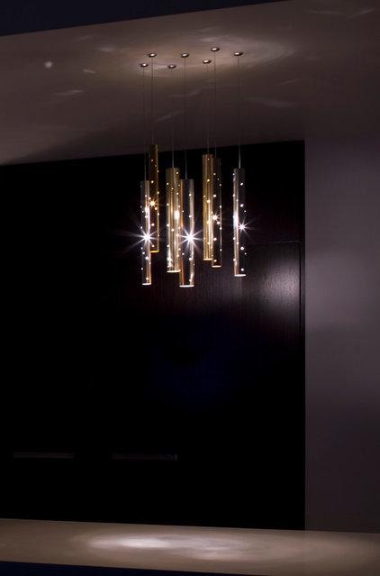 Modern Kitchen Island Lighting by ilanel. light life.