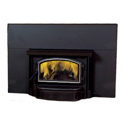 Vermont Castings - Vermont Castings SSI30 Savannah Medium Wood Burning Insert Fireplace - Majestic SSI30--Savannah medium steel wood burning insert