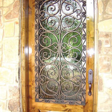 Eclectic Front Doors by Budget Blinds of Dallas & Park Cities